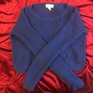 Preowned Sweaters (Small to Large) Blue jacket- 2